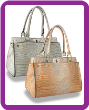 Classic Crocodile Embossed Hand Tote