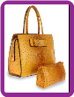 Bow Design Tote Handbag Set