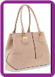 Quilted Accent Fashion Handbag
